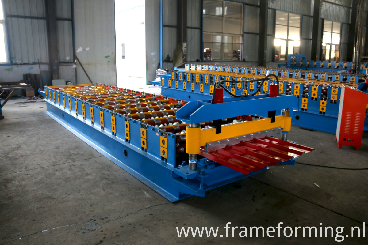 wave model roofing forming machine